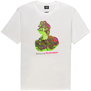 Stussy Technique T-shirt White