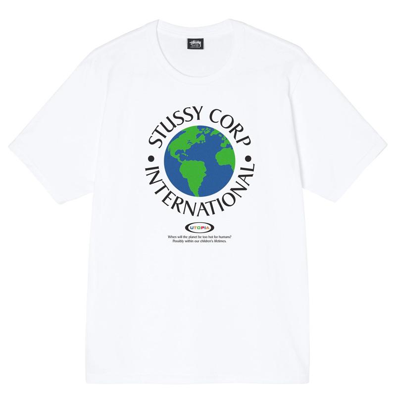 Stussy Utopia T-Shirt White