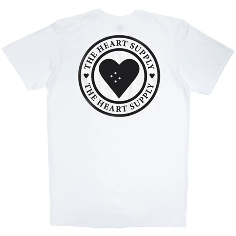 The Heart Supply Insignia T-Shirt White