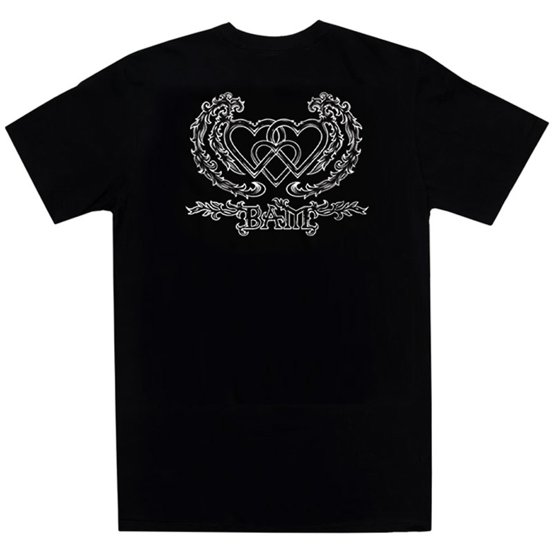 The Heart Supply Three Hearts T-Shirt Black