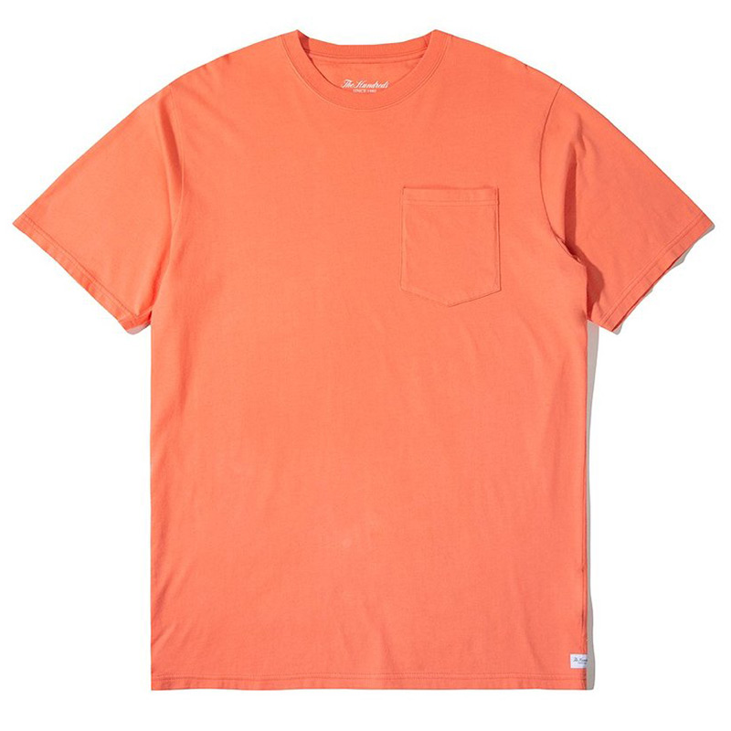 The Hundreds 2020 Perfect Pocket T-Shirt Coral