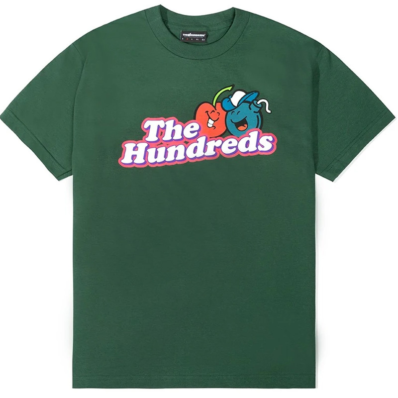 The Hundreds Cherry Bomb T-Shirt Forest