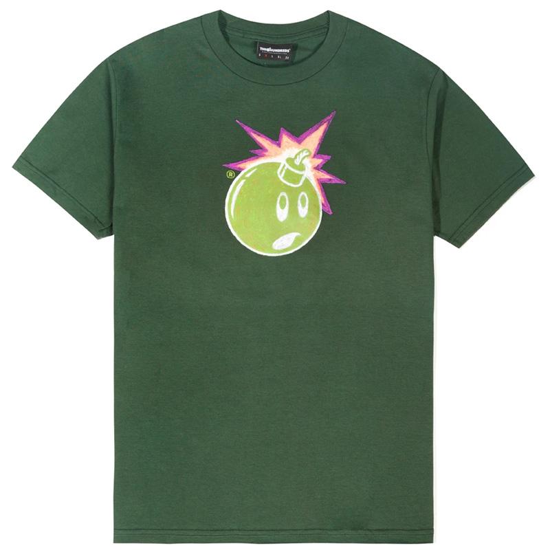 The Hundreds Claude Adam T-Shirt Forest Green