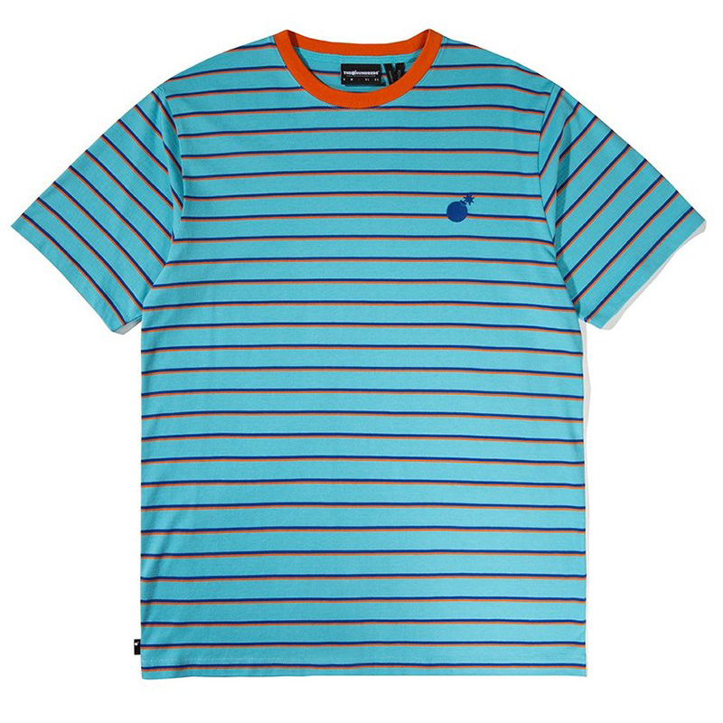 The Hundreds Ditch T-Shirt Pool Blue