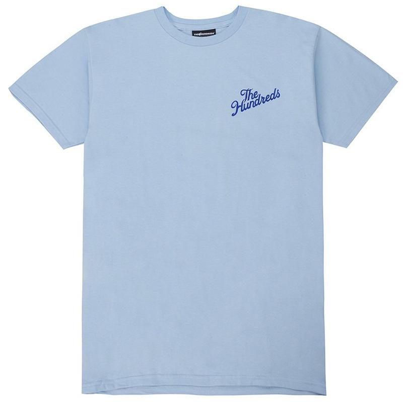 The Hundreds Fax T-shirt Powder Blue