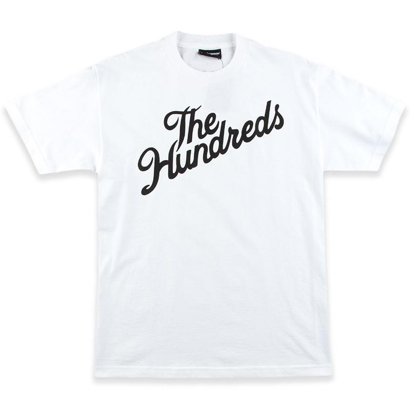 The Hundreds Forever Slant T-shirt White