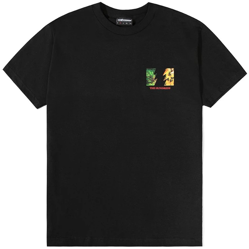 The Hundreds Lord Flag T-Shirt Black