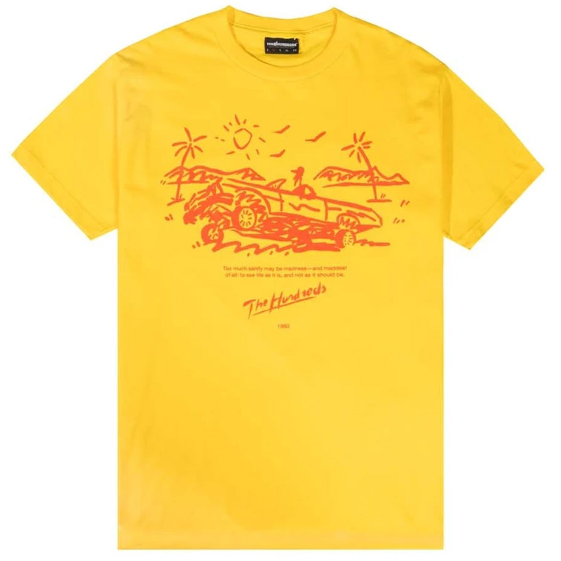 The Hundreds Madness T-Shirt Yellow