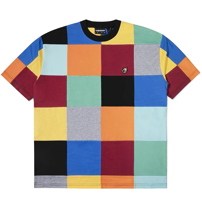 The Hundreds Patchwork SS T-Shirt Multiple