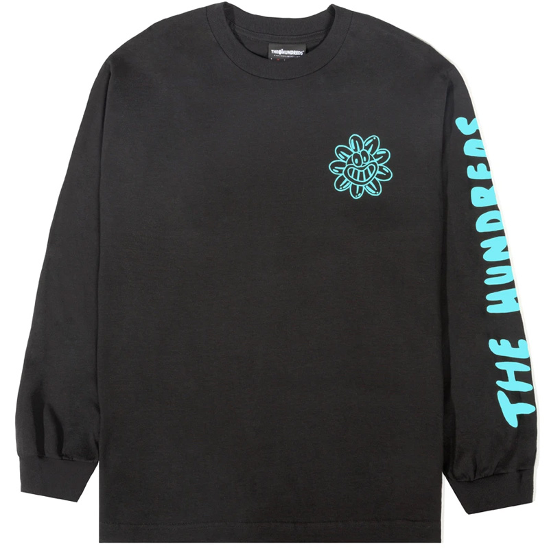 The Hundreds Purify & Destroy Longsleeve T-Shirt Black