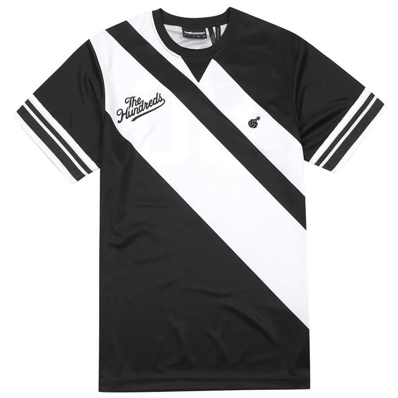 The Hundreds Spike Volleyball Jersey T-shirt Black