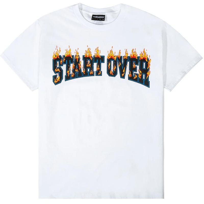 The Hundreds Start Over T-Shirt White