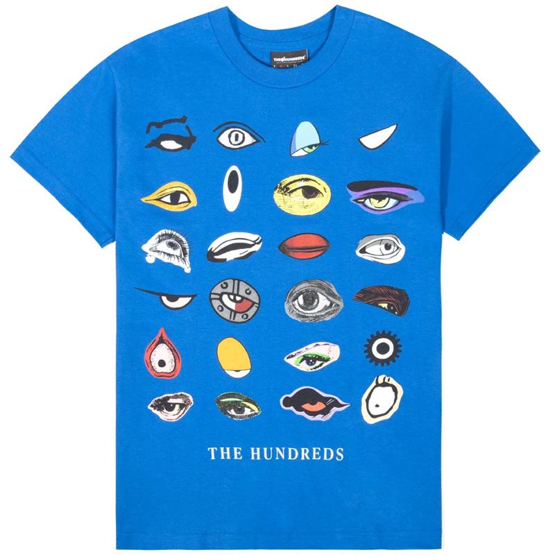 The Hundreds Vision T-Shirt Royal Blue