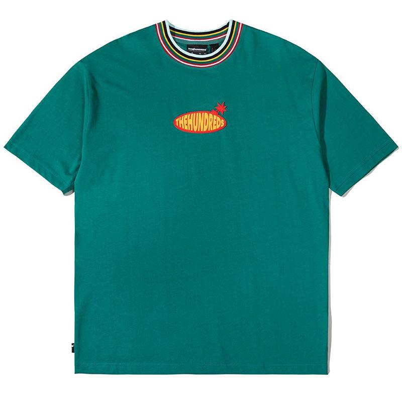 The Hundreds Warp  T-Shirt Green