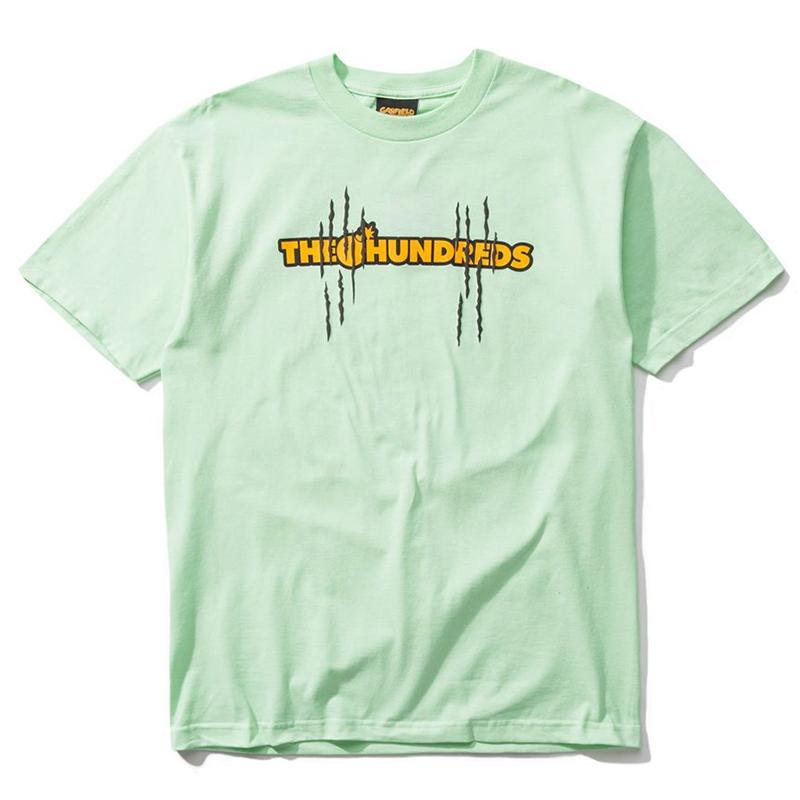 The Hundreds X Garfield Scratch T-Shirt Mint