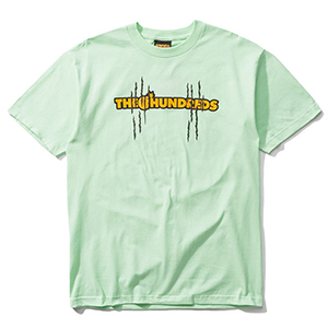The Hundreds X Garfield Scratch T-Shirt Mint