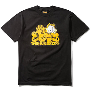 The Hundreds X Garfield Stack T-Shirt Black