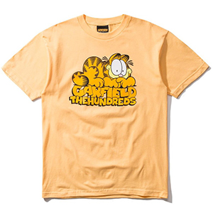 The Hundreds X Garfield Stack T-Shirt Squash