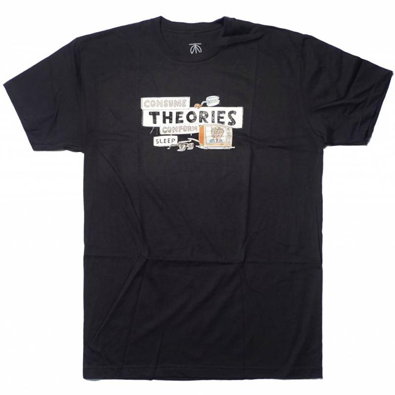 Theories Nada T-shirt Black