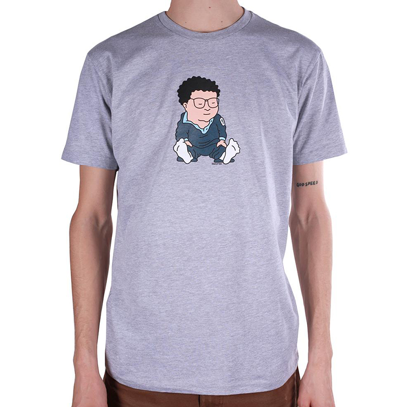 Theories Newman T-Shirt Heather Grey