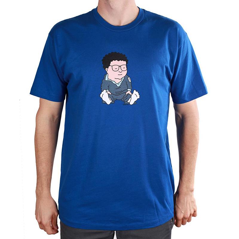 Theories Newman T-Shirt Royal Blue