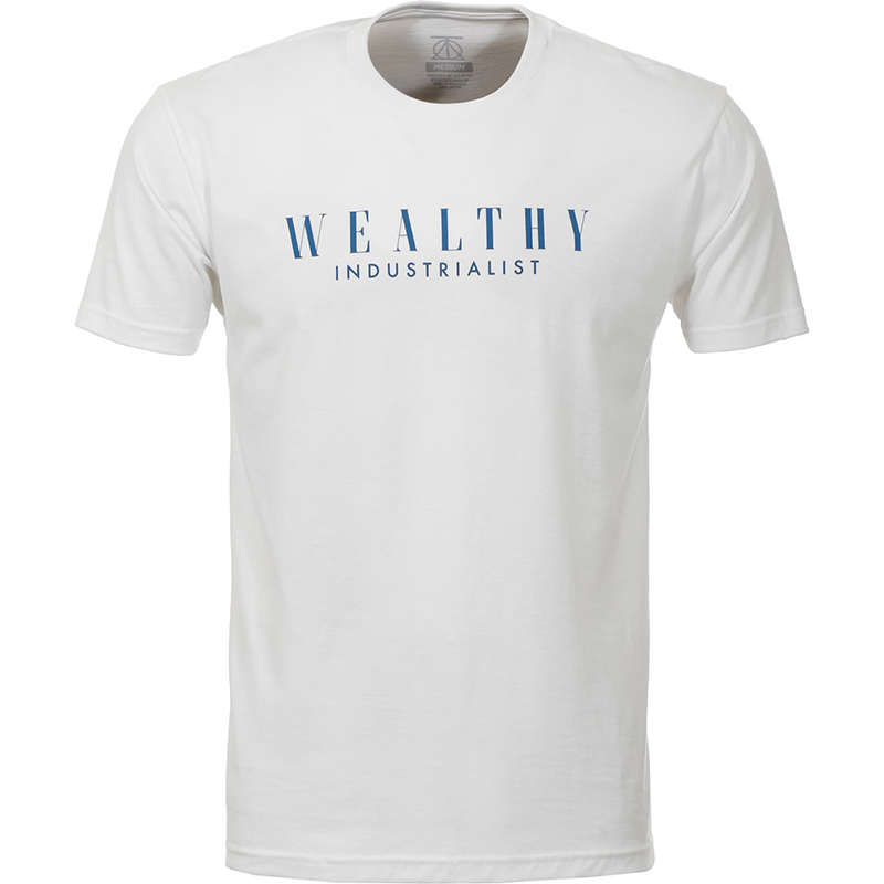 Theories Pennypacker T-Shirt White/Navy