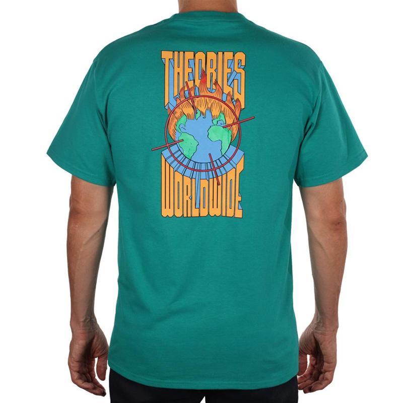 Theories Worldwide Heavy Duty T-Shirt Jade