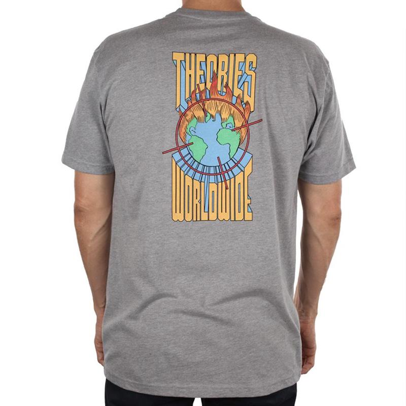 Theories Worldwide T-Shirt Dark Heather