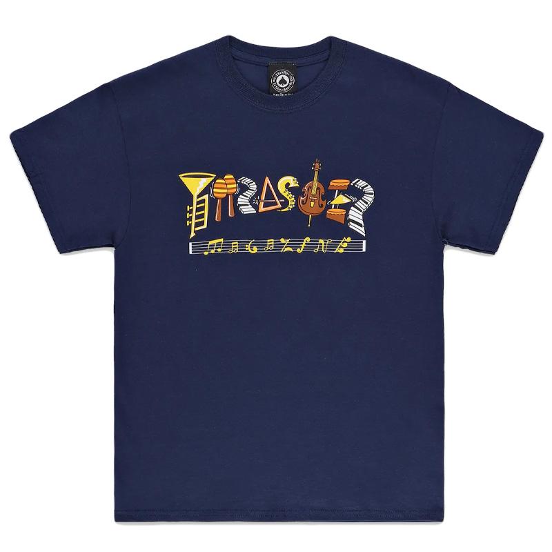 Thrasher Fillmore Logo T-shirt Navy
