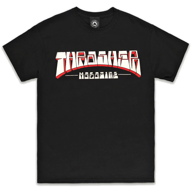 Thrasher Firme Logo T-shirt Black