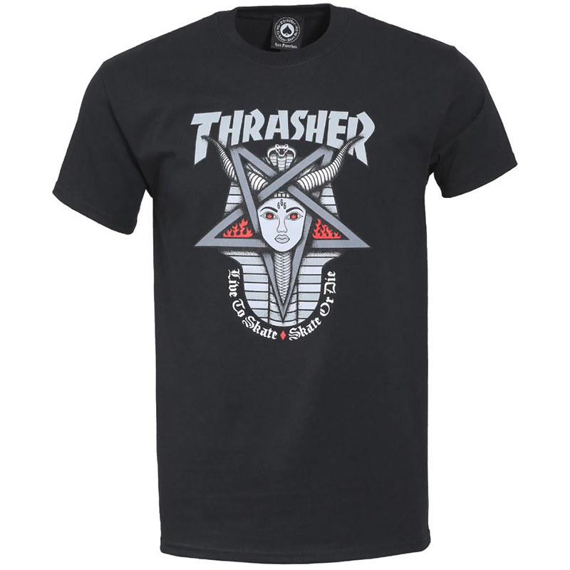 Thrasher Goddes T-shirt Black