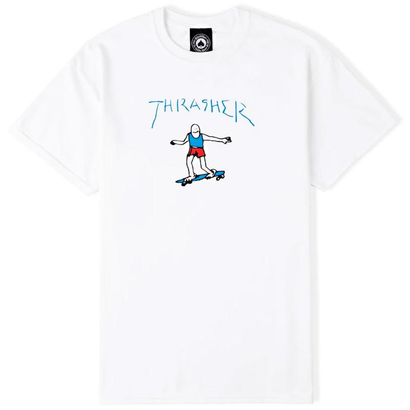 Thrasher Gonz Logo T-Shirt White