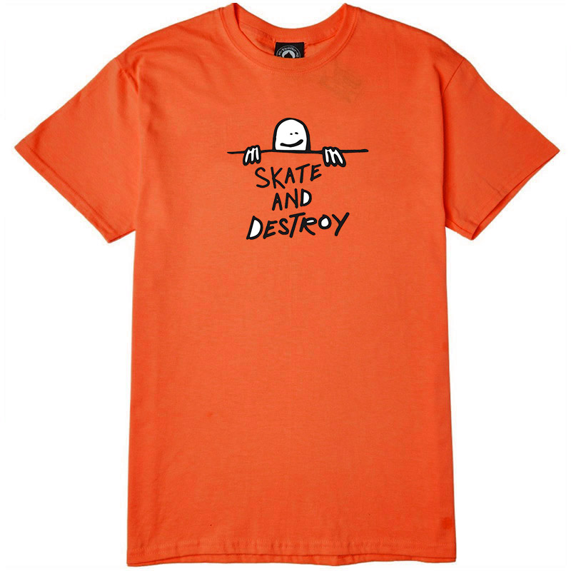Thrasher Gonz Sad Logo T-Shirt Orange