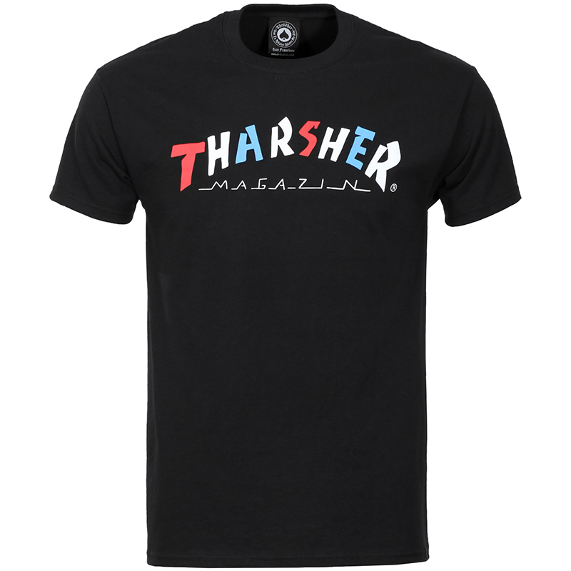 Thrasher Knock-Off T-shirt Black