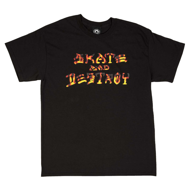 Thrasher Sad BBQ T-Shirt Black