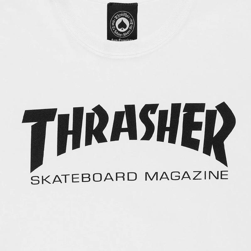 99da76e5 Thrasher Skate Mag T-Shirt White. undefined. Loading zoom