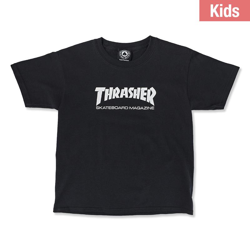 Thrasher Skate Mag Youth T-Shirt Black