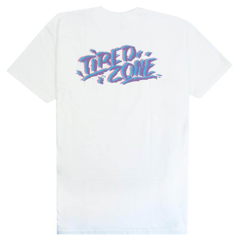Tired Zone T-Shirt White