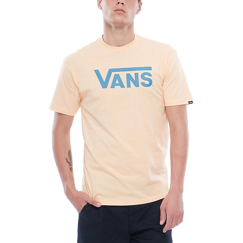 beige vans t shirt
