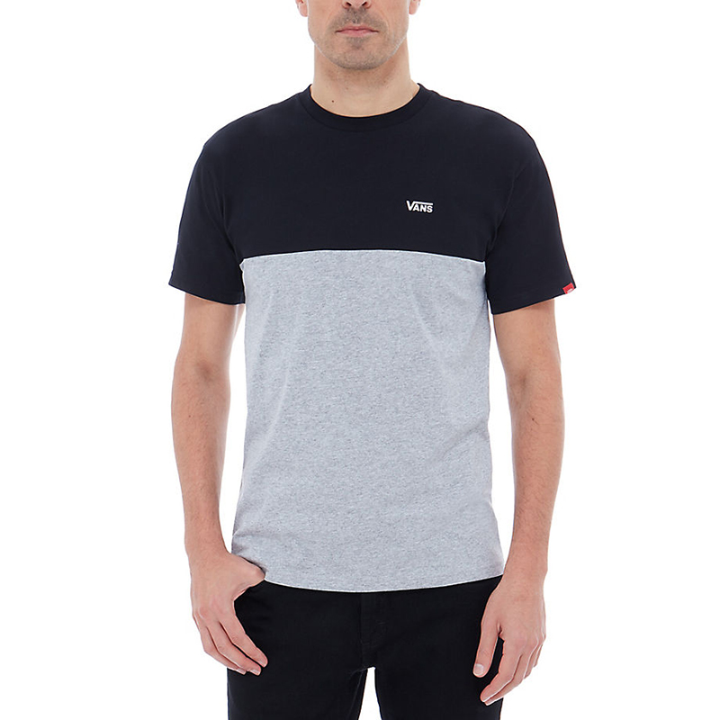 Vans Colorblock T-shirt Black/Athletic Heather
