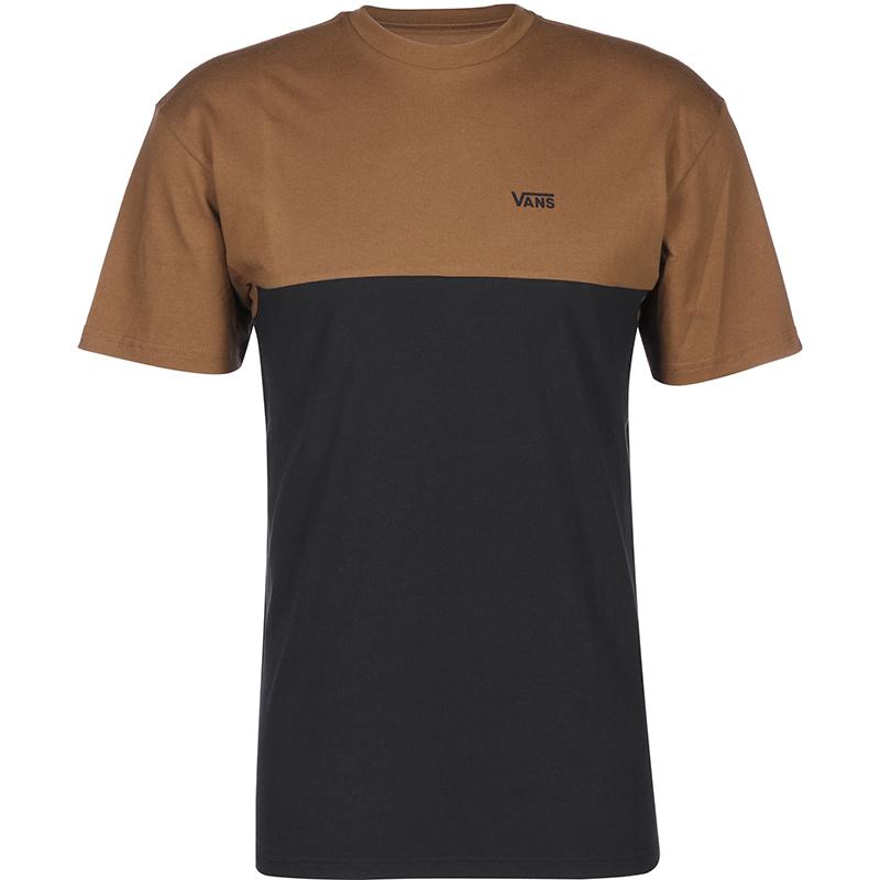 Vans Colorblock T-shirt Toffee/Black