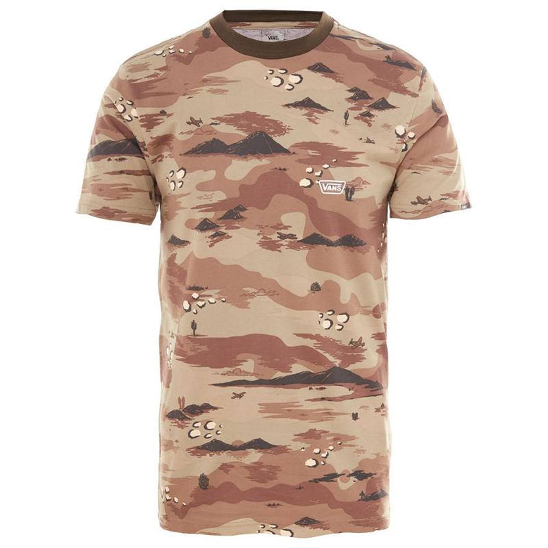 Vans Desert Camo Ringer T-Shirt Storm Camo