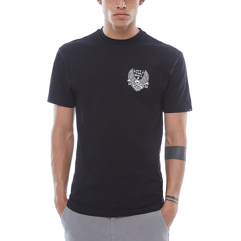Vans Eagle Bones T-shirt Black