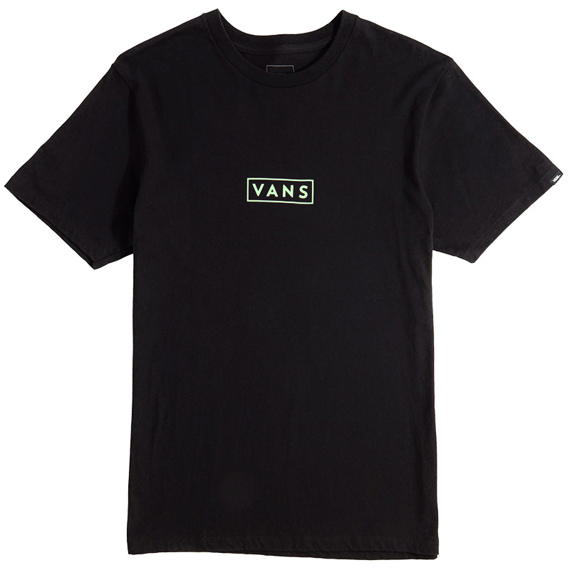 Vans Easy Box T-Shirt Black/Sharp Green