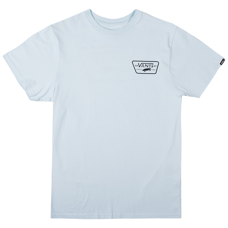 Vans Full Patch Back S T-shirt Baby Blue/Black
