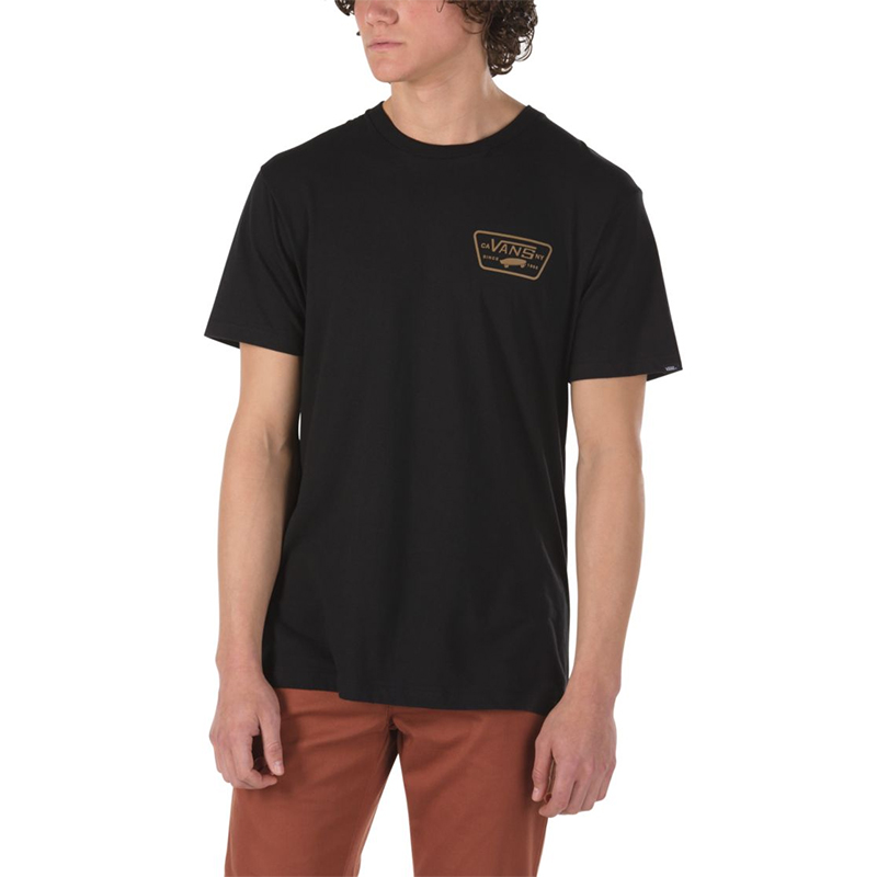 Vans Full Patch T-Shirt Black/Dirt