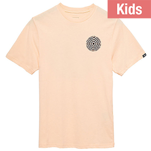 Vans Kids Checkered T-shirt Apricot Ice