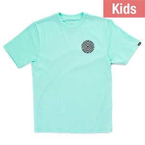 Vans Kids Checkered T-shirt Mint