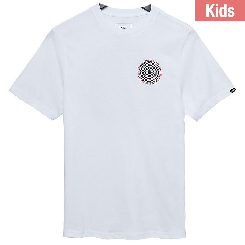 Vans Kids Checkered T-shirt White