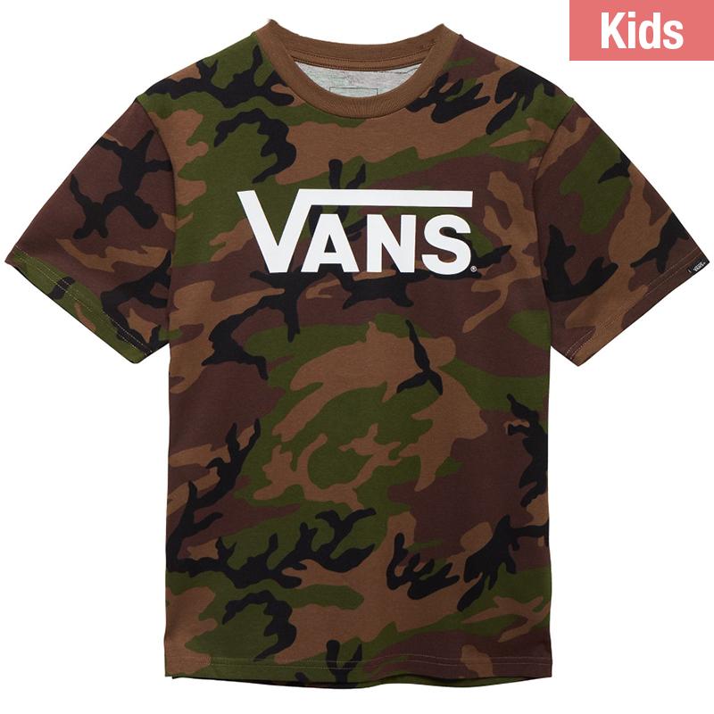 Vans Kids Classic T-Shirt Camo/White